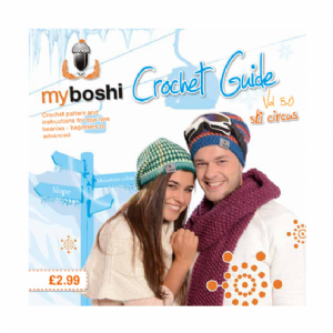 Crochet Guide Volume 5.0 - Patterns For DMC Myboshi Beanie Hats